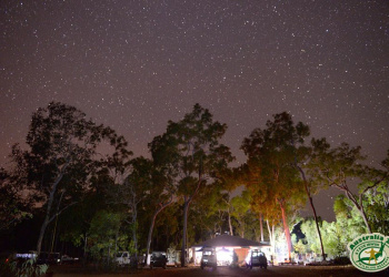Night sky at the reserve.
