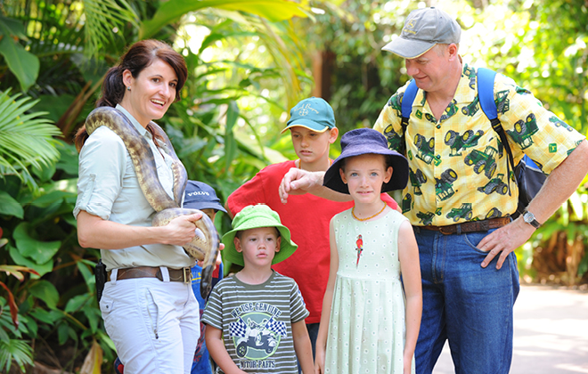 Family Fun Day at Australia Zoo
