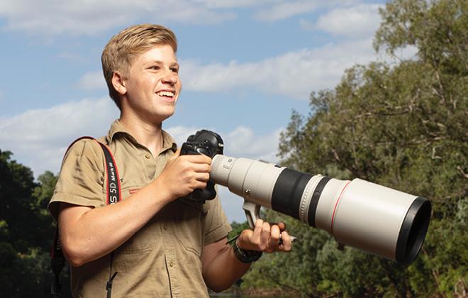 Robert with Camera