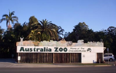 Old Front of Zoo