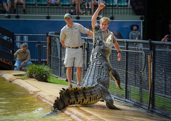 Robert Irwin Crocodile Murray