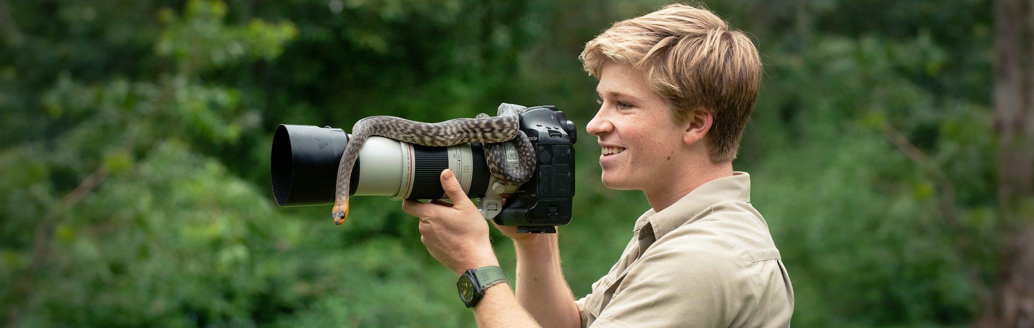 Robert Irwin Photo competition