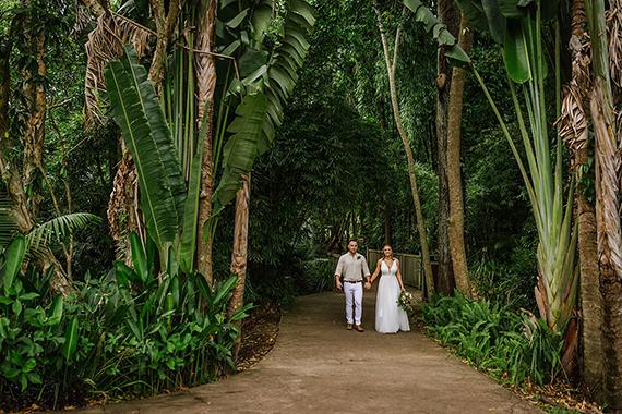 island wedding photo